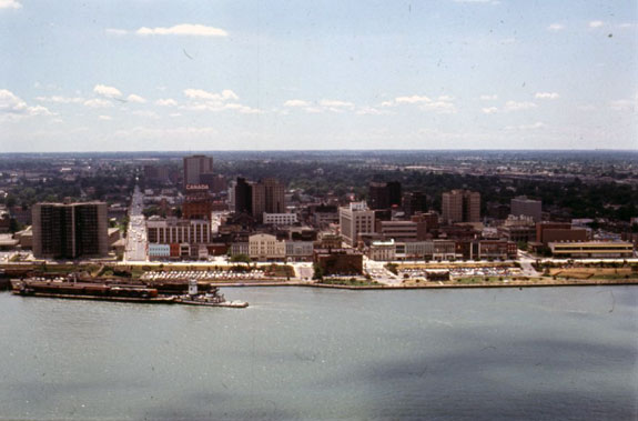 Downtown Windsor – 1971