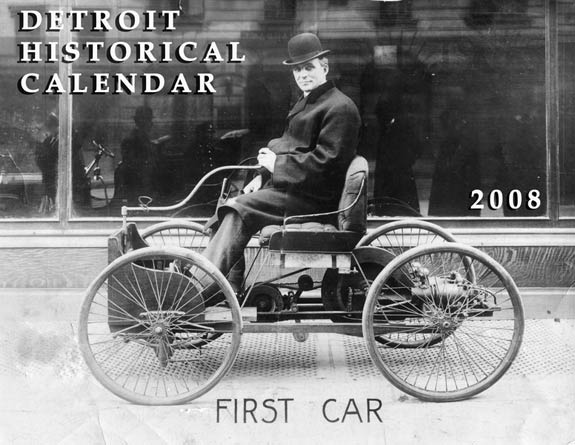 2008 Detroit Historical Photo Calendar