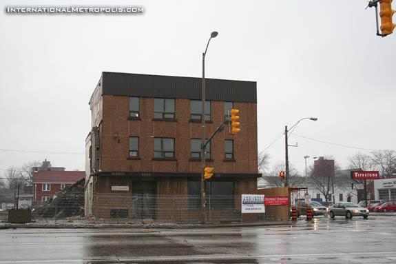 Old CAA Demolition