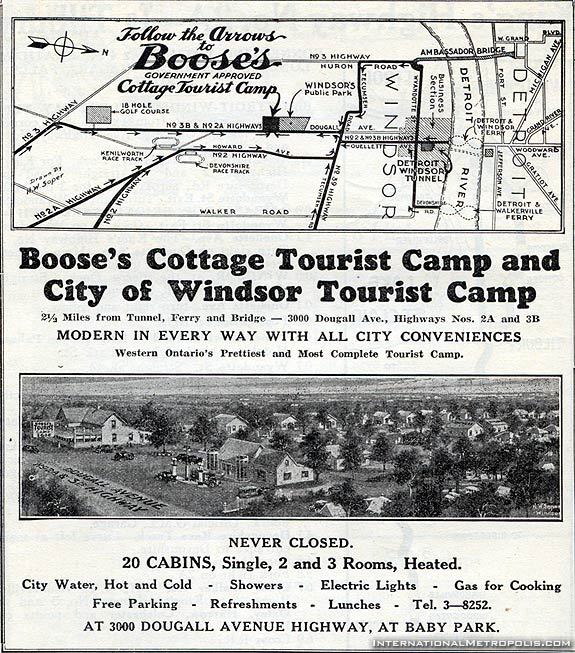Boose's Cottage Tourist Camp