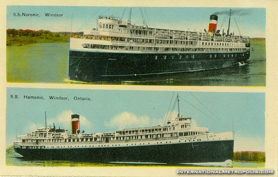 SS Noronic & Hamonic