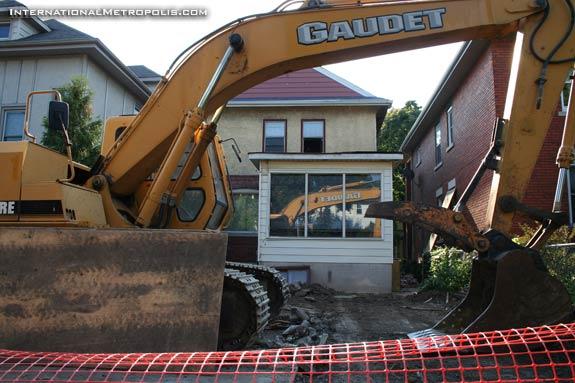Bye-Bye Cat  House