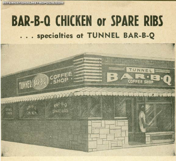 Tunnel Bar-B-Q – 1954
